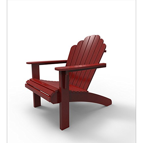 Malibu Outdoor Living Recycled Plastic Hampton Adirondack Chair