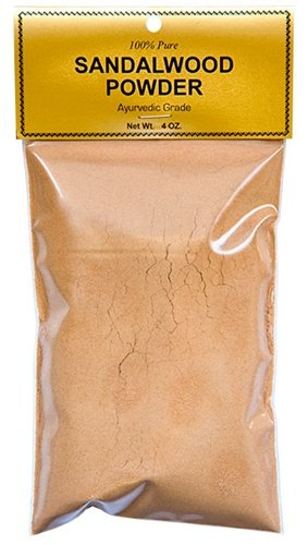 Pure Sandalwood Powder - Four Ounce Bag