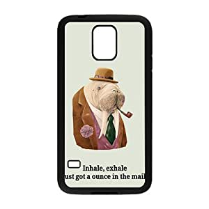 Happy Inhale exhale just got a ounce in the mail Case Cover For samsung galaxy S5 Case