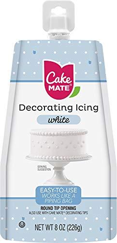 Cake Mate CM249-59 Decorating Icing 8 oz. White
