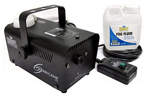 Chauvet Halloween Pro Dj Fog Smoke Machine w/ Fog Fluid & Wired Remote (Halloween Smoke Machine)