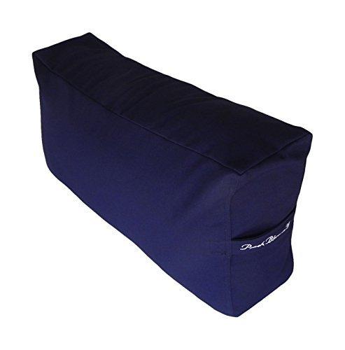 - Yoga Bolster Large Rectangular Leg/Back Cushion support for Active Yoga, 25.5