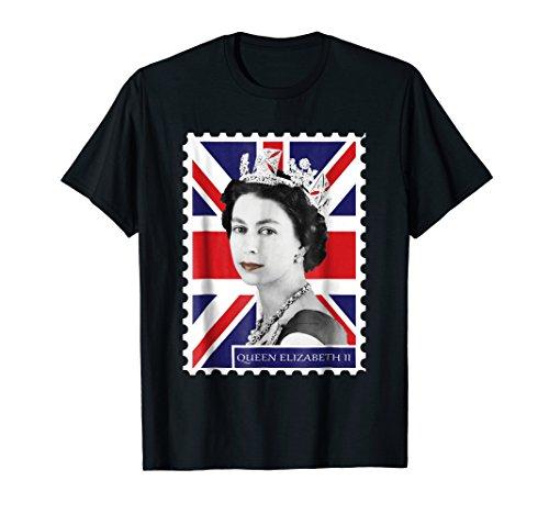 (Queen Elizabeth II + Union Jack T-Shirt)