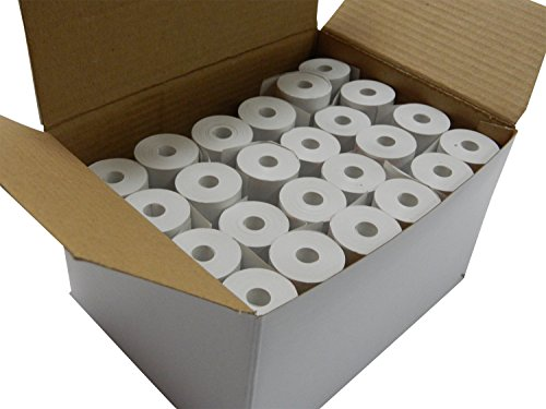 24 rolls Thermal Paper 2-1/4'' x 30 ft for Poynt Smart Terminal Receipt Printer 25mm diameter, CORELESS, BPA Free by Unknown