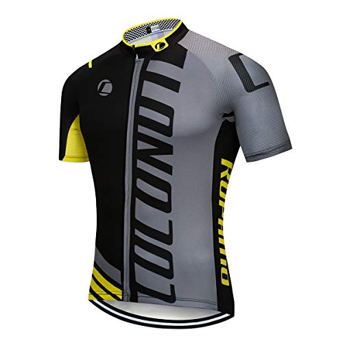 Coconut Ropamo Men's Cycling Jersey Short Sleeve Full