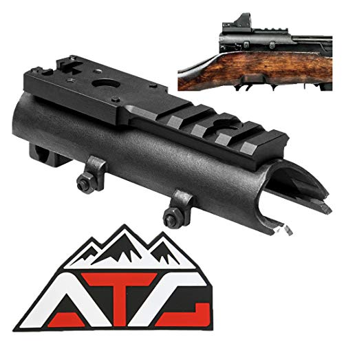 ATG SKS Micro Dot Sight Weaver Picatinny Rail Scope Mount Aluminum ()