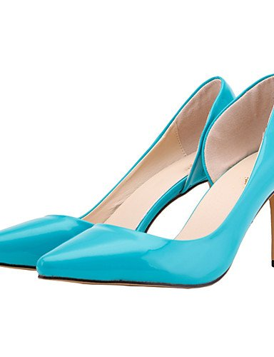 BGYHU GGX/Damen Schuhe Heels Kunstleder Frühjahr/Sommer/Herbst Heels/spitz Toe Heels Schuhe Büro & Karriere/Party & Abend dark blue-us6 / eu36 / uk4 / cn36 142135