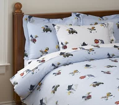 Amazon Com Pottery Barn Kids Batman Tm Duvet Cover Kitchen Dining