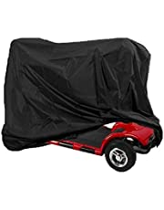 Kinbelle Mobility Scooter Cover Size 140x68x91cm, Heavy Duty Waterproof 4 Wheel Power Scooter Travel Storage Bag