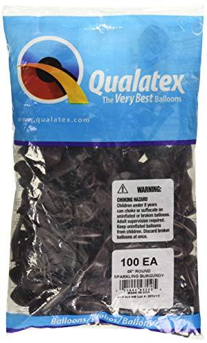 Qualatex Latex Balloons 43550 Sparkling Burgundy, 5