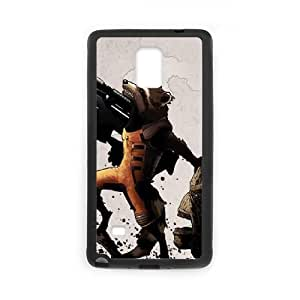 Samsung Galaxy Note 4 Cell Phone Case Black Rocket And Groot Fire SLI_622541