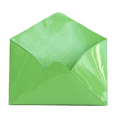Metal Wall Envelope (Lime Green, Set of Three)