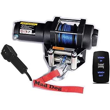 Dash Switch for Mad Dog 2500 Mad Dog Winch Rocker 3500 4500 Winch