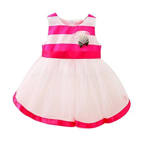 Girls Clothes Odeer 2017 Toddler Baby Girls Striped Dress...