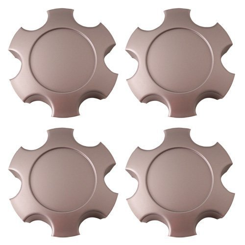 Set of 4 Replacement Aftermarket Center Caps Hub Cover Fits 17x7 Inch Alloy Wheel - Part Number: IWCC69440