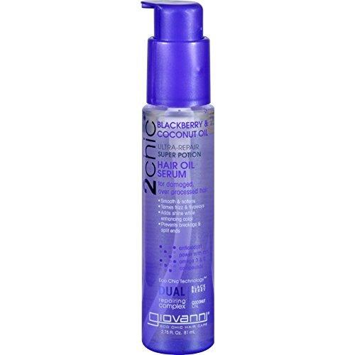 Giovanni Hair Care Products Hair Oil Serum - 2chic - Repairi