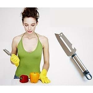 Kaifina 4 in 1 Stainless Steel Material Peeler Bottle Opener Fruit Knife(Random Color)