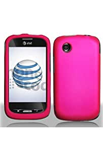 ZTE Avail Rubberized Shield Hard Cases - Hot Pink (Package include a HandHelditems Sketch Stylus Pen)