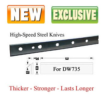 Infinity Tools HSSK-041, Replacement Planer Knife For For...