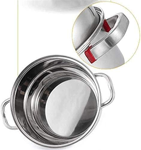 Vitaliseur Vapeur À Frire Avec Couvercle En Acier Inoxydable Alimentaire Steamers Pot Induction Hob Gaz Universal Stock Pot