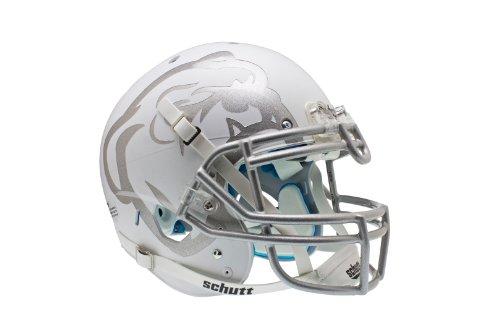 NCAA Mississippi State Bulldogs Authentic XP Football Helmet, Matte/White ()