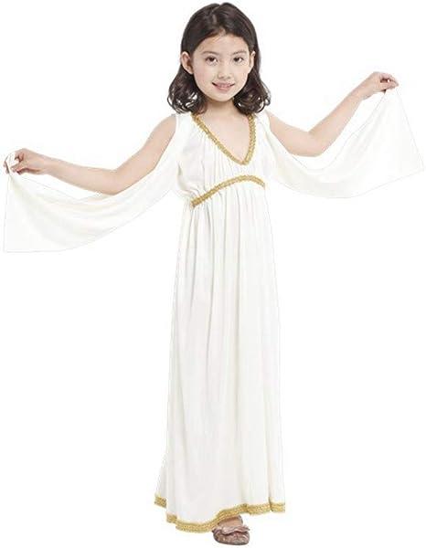 DUOLAIMENG Disfraces de Halloween Princesa Egipcia para Niñas ...