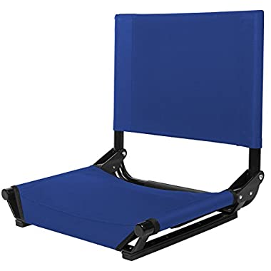 Cascade Mountain Tech Wide Stadium Seat (Royal Blue)