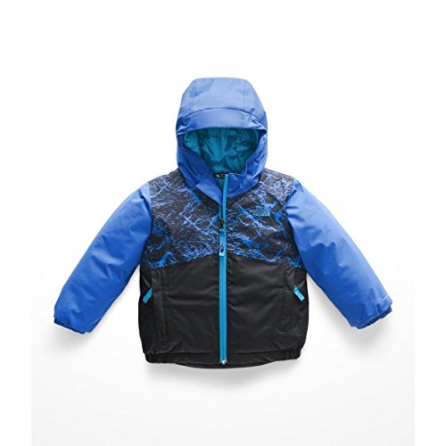 The North Face Toddler Snowquest Insulated Jacket - Hyper Blue Granite Print - 2T -