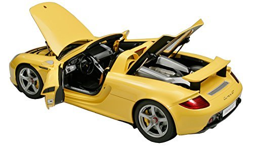 Tamiya 1/12 Collectors Club Special No.07 Porsche Carrera GT yellow semi-assembled model 23207 finished product ()