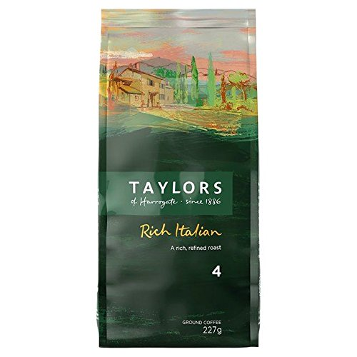 Taylor's Rich Italian Dark Roast Ground Coffee - 227g