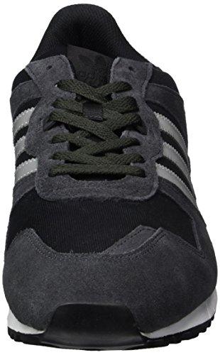 Adidas Unisex-erwachsene Zx 700 Lav-top Sort (nytte Sort F16 / Metallisk Sølv-sld / Kerne Sort) dsmgr515E
