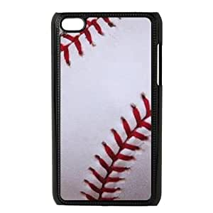 Unique Design Case for iPod touch4 w/ I Like Baseball image at Hmh-xase (style 4)