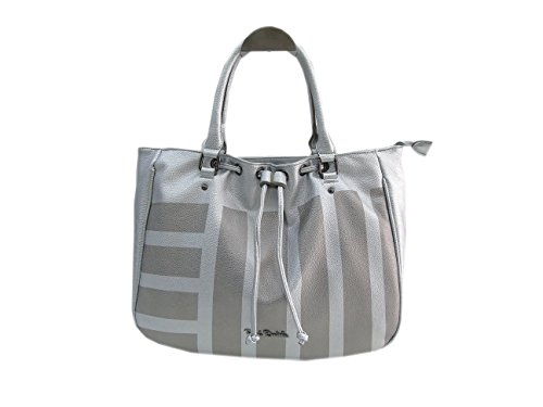 Borsa donna Renato Balestra l.Rubio mod. shopping a mano 253-6 silver