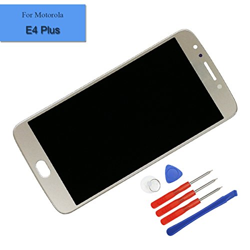 For MOTOROLA E4 Plus XT1770 XT1771 LCD Touch Screen Display Assembly Gold with Tools by Melphyreal