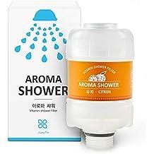 [Patrocinado] Sum Eco Filtro de agua de ducha Vitamina – Reduce la piel seca, caspa, eccema, hidratante de la piel, pelo y clavos, elimina el cloro, plomo, impurezas y agua dura – Filtro de ducha