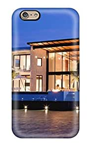 6 Scratch-proof Protection Case Cover For Iphone/ Hot Architecture Houses Phone Case