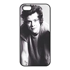 wugdiy DIY Protective Snap-on Hard Back Case Cover for iPhone 5,5S with Harry Styles