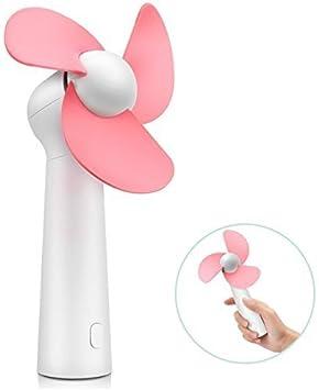 Mini ventilador portátil, ventilador de bolsillo de mano con ...