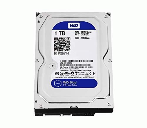Western Digital HDD WD10EZEX 1TB SATA 6Gb/s Desktop 7200rpm 64MB Cache Bare Drive (WD10EZEX)