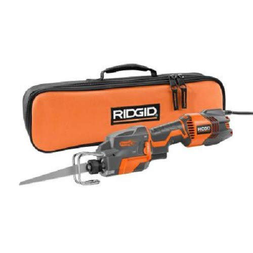 Ridgid ZRR3031 6 Amp One-Handed Orbital Recip Saw with THRU COOL Technology Renewed