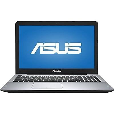 ASUS 15.6 Inch HD Black Edition Laptop PC (AMD Quad-Core A10-8700P AMD Radeon R6 Graphics 8GB DDR3 500GB HDD DVDRW WIFI Bluetooth Windows 10) from Asus