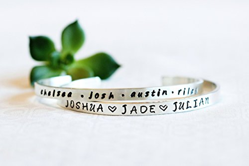 Personalized Gift For Mom, Birthday Gift For Mom, Bracelet With Children's Names, Valentines, Easter, Mothers Day Gift