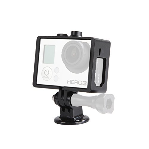 Movo Photo GC34 Rugged Protective Housing Cage with Tripod Mount for GoPro HERO3, HERO3+ and HERO4 Action Camcorders from Movo