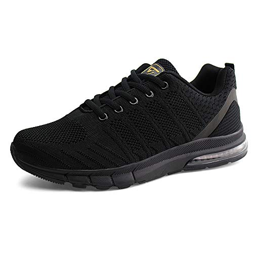 JABASIC Women Air Cushion Sneakers Lightweight Running Tennis Shoes
