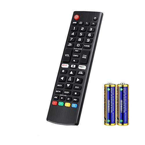 Universal Mando a Distancia para LG Smart TV AKB75095308 AKB74915324 Compatible con Todos Mando a Distancia de LG TV
