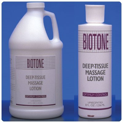 Biotone Deep Tissue Massage Lotion, 128 Ounce (Deep Tissue Biotone)