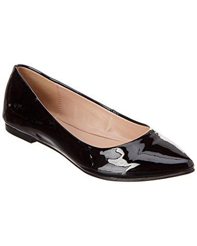 n's Millie Ballet Flat, Black Patent, 8 M US (Patent Ballerina)