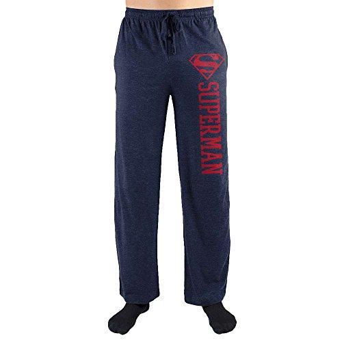 Bioworld Superman S Symbol Print Men's Sleepwear Lounge Pants XX-Large -