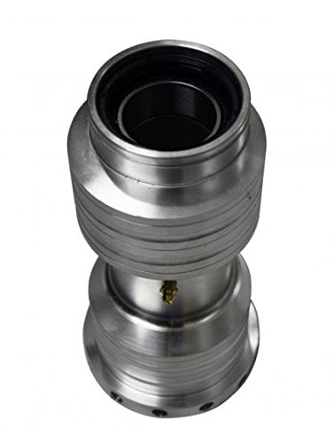 SuperATV Heavy Duty Billet Aluminum Axle Bearing Carrier for Honda 400EX - Includes Bearings, Seals, and Grease Fittings!