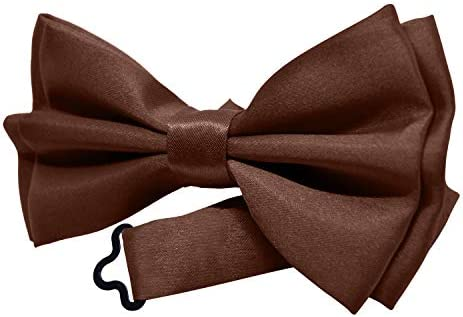 کراوات کراوات برای کودکان - پسران دختران شیک کراوات از قبل کراوات شیک - رنگ جامد توسط اکشن بخش